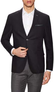 Michael Bastian Gray Label Men's Wool Notch Lapel Blazer
