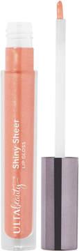 ULTA Shiny Sheer Lip Gloss - Peach (sheer blue pinky peach with shimmer)