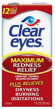 Clear eyes Maximum Redness Relief Lubricant Eye Drops