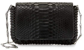 Paco Rabanne 1401 Small Python Shoulder Bag