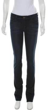 DL1961 Low-Rise Straight-Leg Jeans