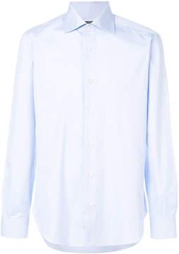 Barba plain classic shirt