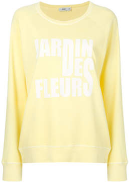 Closed print sweatshirt