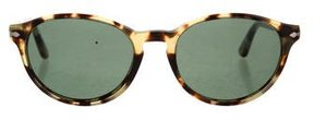 Persol Round Tinted Sunglasses