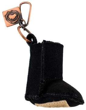 Australia Luxe Collective Shearling Boot Keychain