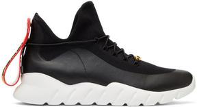 Fendi Black and White Runner Sneakers