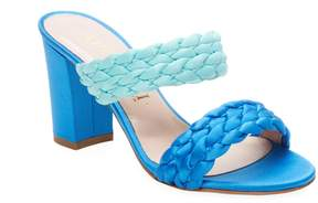 Aperlaï Women's Braided High-Heel Sandal