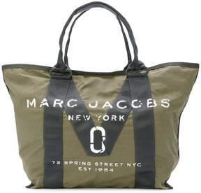 Marc Jacobs logo tote - GREEN - STYLE