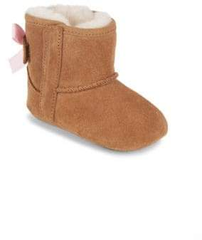 UGG Baby's Jesse Bow Shearling-Lined Suede Boots