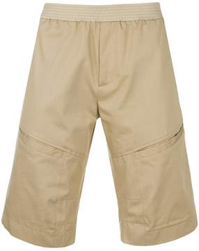 Les Hommes classic fitted shorts
