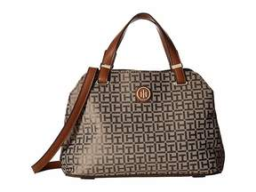 Tommy Hilfiger Geneva Convertible Satchel Hobo Handbags