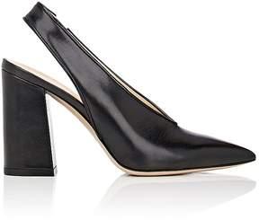 Barneys New York Women's Malto Leather Slingback Pumps