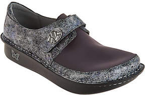 Alegria As Is Dream Fit Leather and Neopprene Slip-ons- Dena