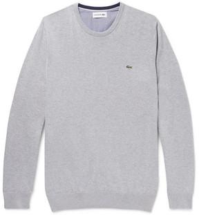 Lacoste Slim-Fit Cotton Sweater