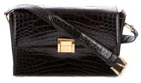 Escada Alligator Shoulder Bag