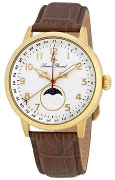 Lucien Piccard Complete Calendar Silver Dial Men's Watch