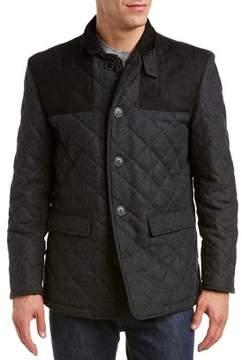 Hart Schaffner Marx Shooter Wool-blend Jacket.