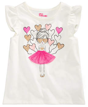 Epic Threads Little Girls T-Shirt, Created for Macy's
