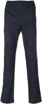 Joseph ribbed elasticated waist trousers