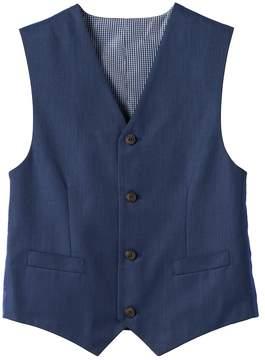 Chaps Boys Fine Tick Vest