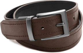 Columbia Men's Double Stitched Reversible Leather Belt