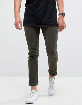 Loyalty And Faith Skinny Fit Jeans with Light Abbrasions in Khaki