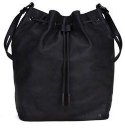 Elliott Lucca Marion Drawstring Leather Bag