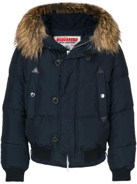 DSQUARED2 hooded puffer jacket