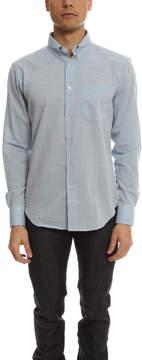 Naked & Famous Denim Regular Shirt Organic Cotton Heather Air Twill