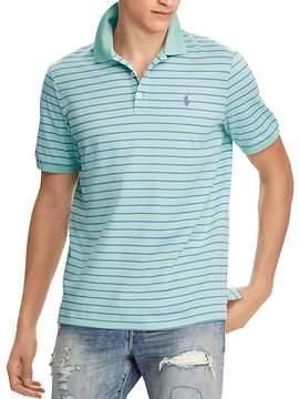 Polo Ralph Lauren Striped Stretch Mesh Classic Fit Polo Shirt