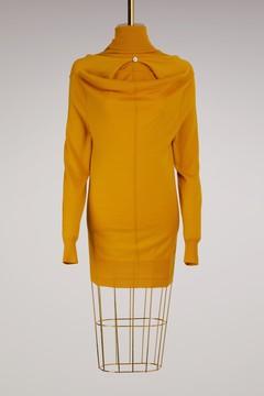 Aalto Draped Turtleneck Sweater
