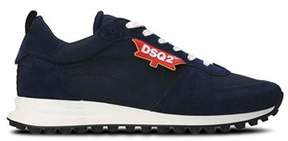 DSQUARED2 Men's Blue Polyamide Sneakers.