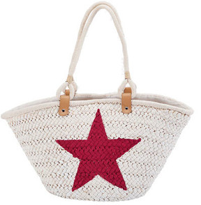 Women's San Diego Hat Company Painted Star Tote BSB1559