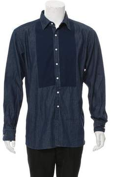 Ovadia & Sons Denim Button-Up Shirt w/ Tags