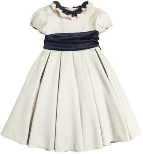 La Stupenderia Jacquard & Organza Party Dress