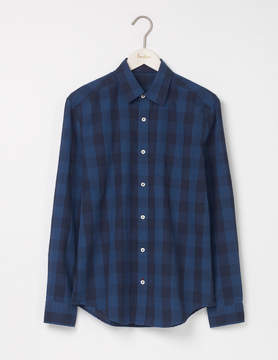 Boden Linen Cotton Pattern Shirt