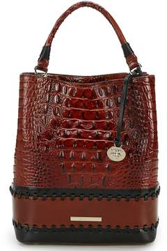 Brahmin Fitzgerald Collection Colorblock Amelia Bucket