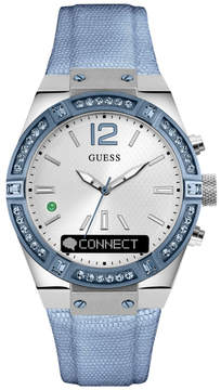 GUESS CONNECT Smartwatch in Blue 41mm