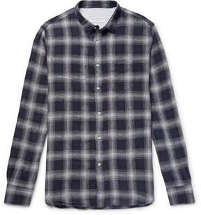 Officine Generale Checked Linen Shirt