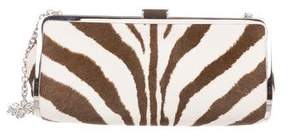 Ralph Lauren Animal Print Ponyhair Shoulder Bag