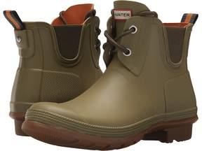 Hunter Sissinghurst Lace Pull-On Boot Women's Rain Boots