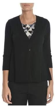 Altea Women's Black Wool Cardigan.