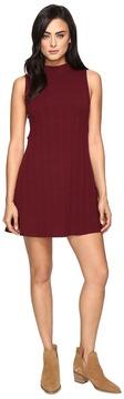 Culture Phit Jordan Sleeveless Mock Neck Dress with Open Sides Women's Dress