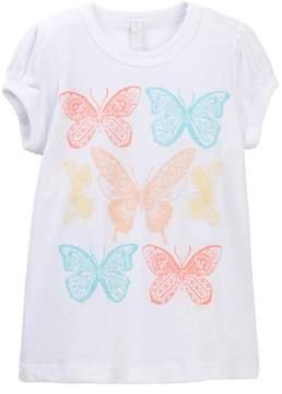 O'Neill Sweet Butterfly Tee (Toddler & Little Girls)
