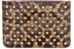 Christian Louboutin Spiked Coin Pouch
