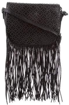 Alaia Python Studded Arabesque Bag