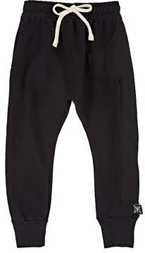 Nununu 1 Cotton French Terry Drop-Rise Sweatpants