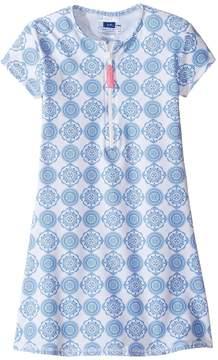 Toobydoo Delft Rashguard Dress (Infant/Toddler/Little Kids/Big Kids)