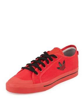 Adidas By Raf Simons Matrix Spirit Men's Low-Top Sneaker, Red/Black