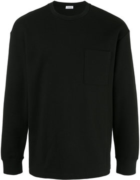 EN ROUTE chest pocket sweatshirt